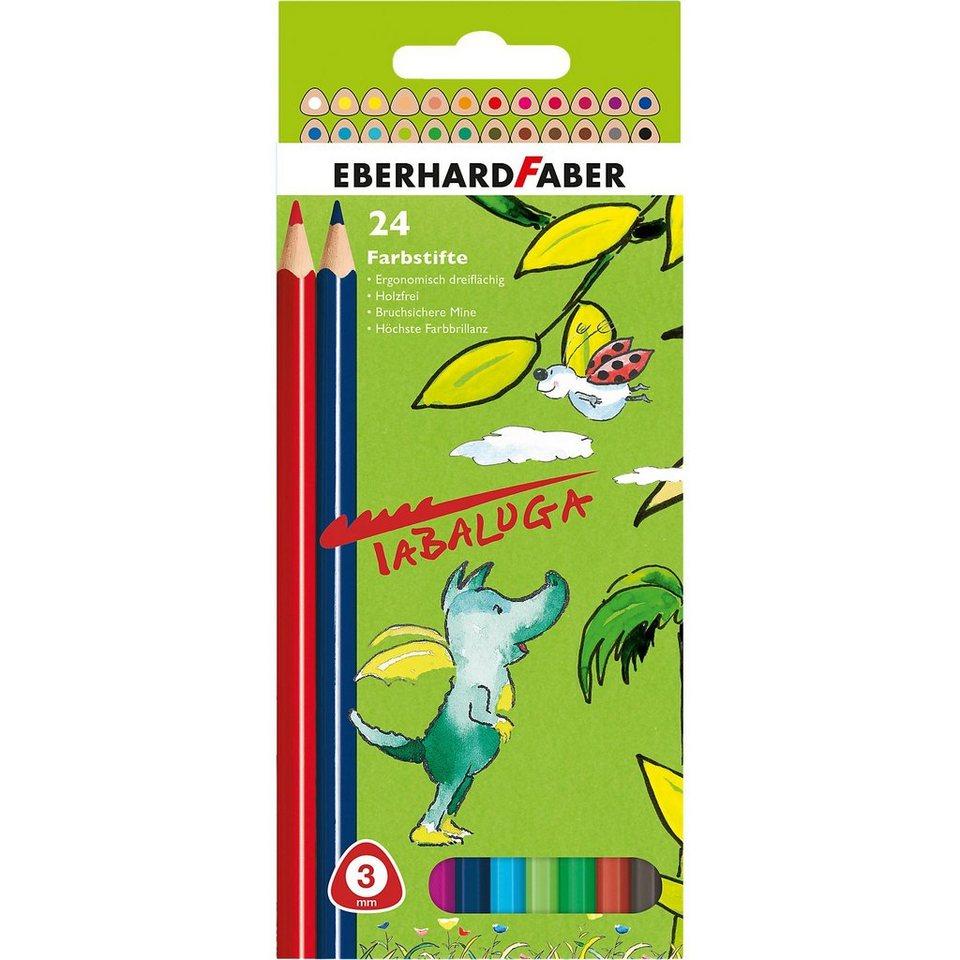 Eberhard Faber Buntstifte Tabaluga im Etui, 24 Farben
