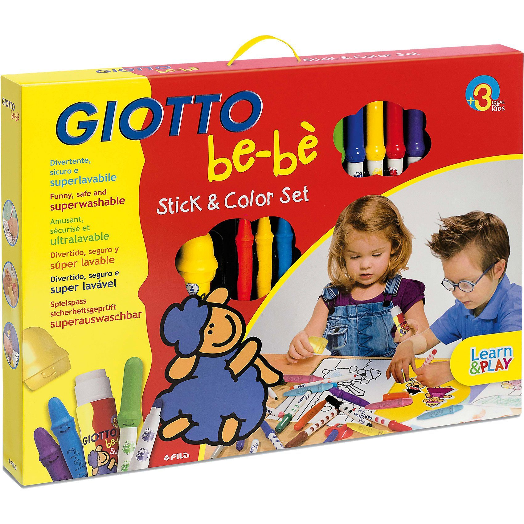 LYRA GIOTTO be-bé Stick & Color-Set, 30-tlg.
