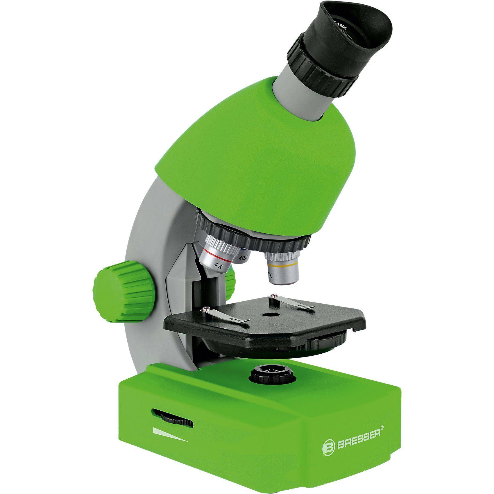 BRESSER 40x-640x Mikroskop Grün