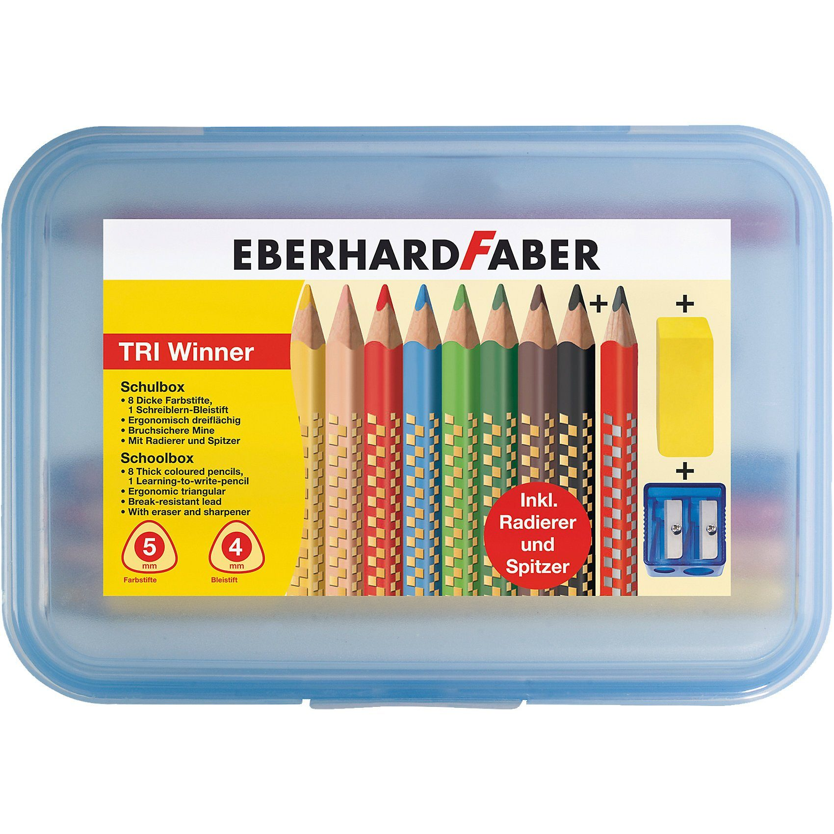 Eberhard Faber Buntstiftebox TRI Winner, 11-tlg.
