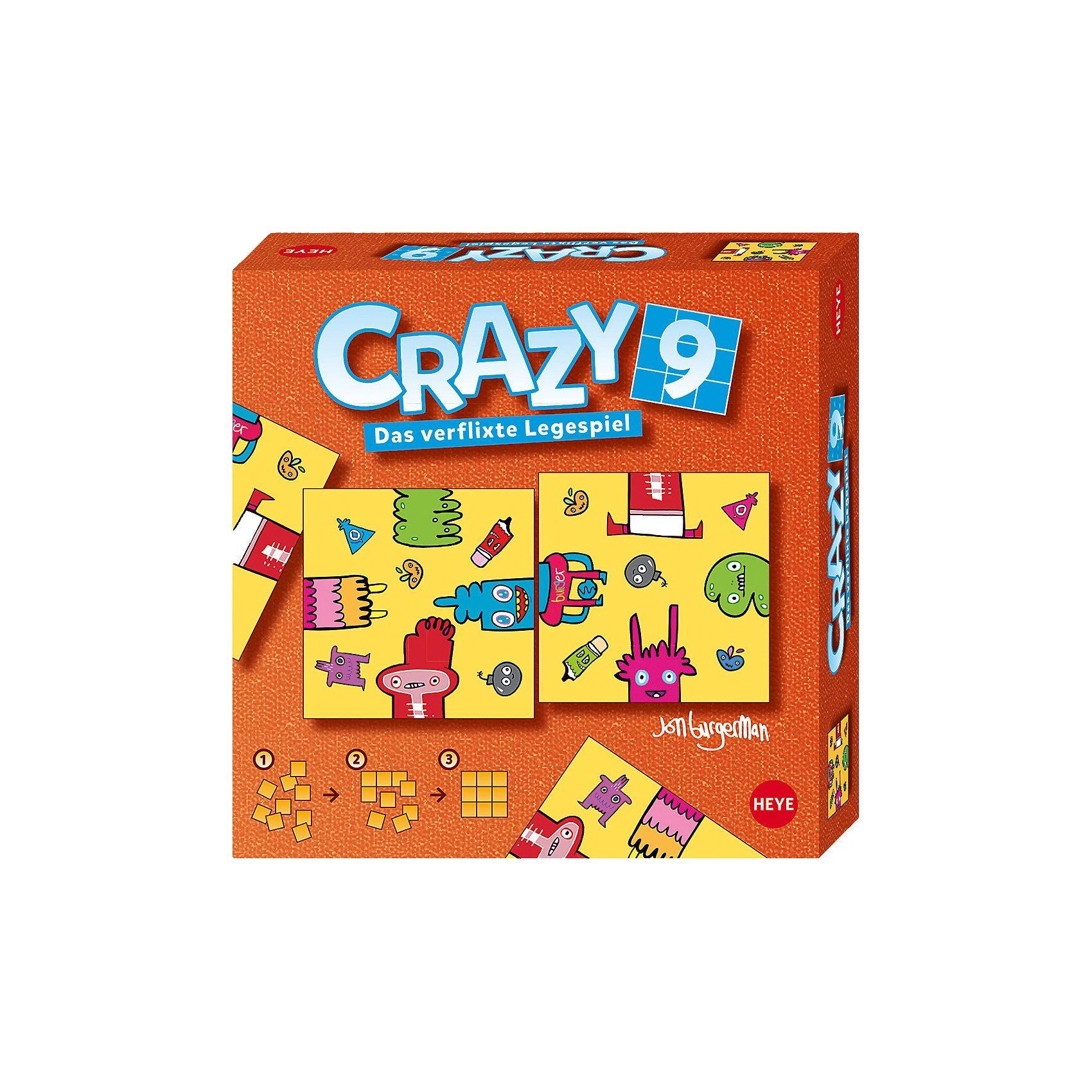HEYE Crazy9 - Burgerman Doodles