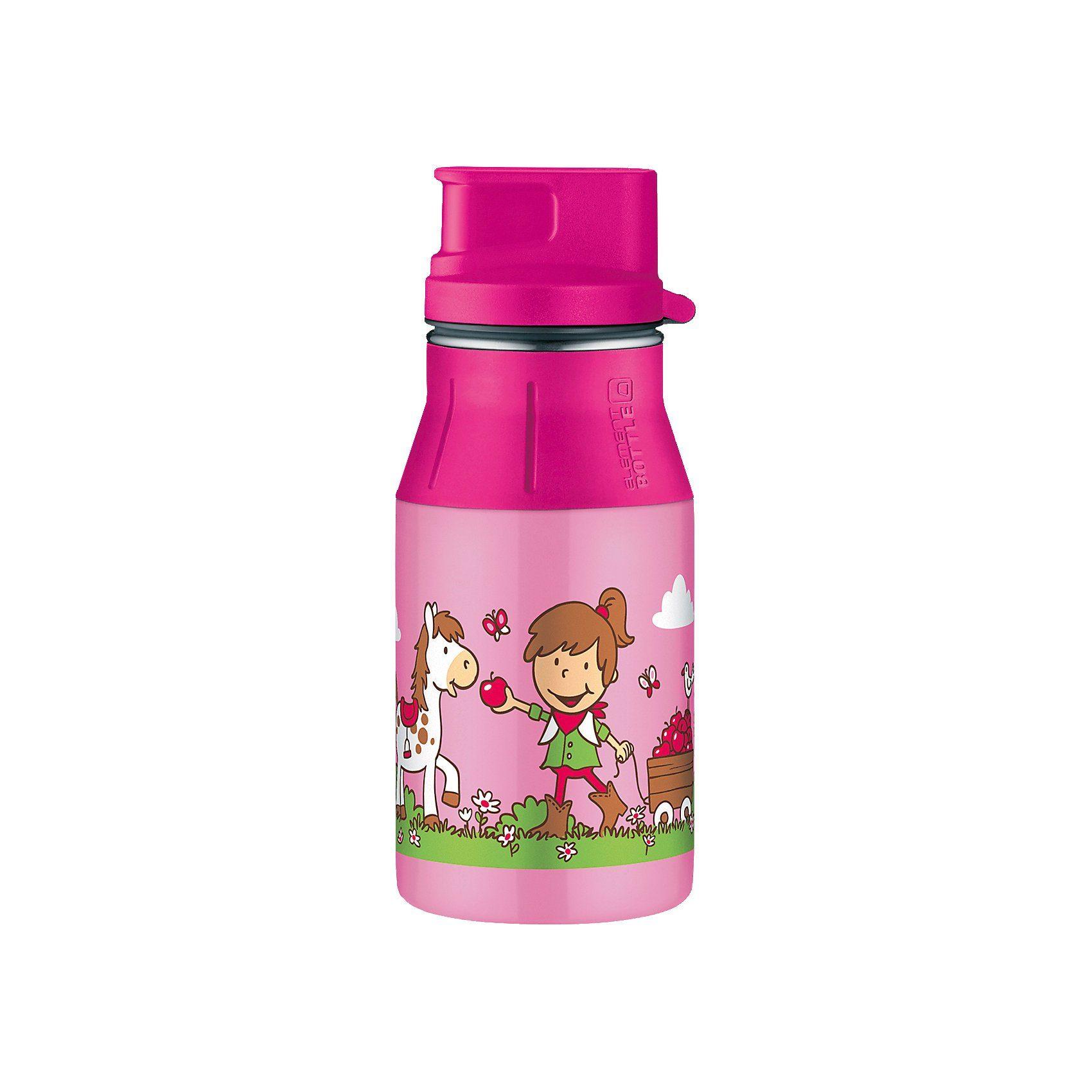 Alfi Trinkflasche elementBottle Farm, rosa, 400 ml