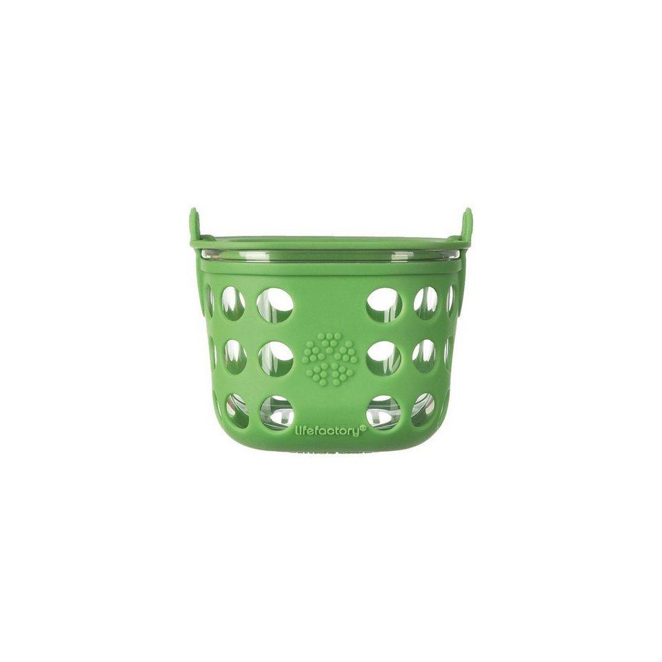 Lifefactory Lunchbox Glas grass green, 475 ml