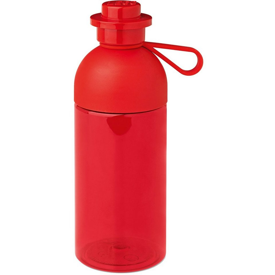 LEGO Trinkflasche Rot, 500 ml