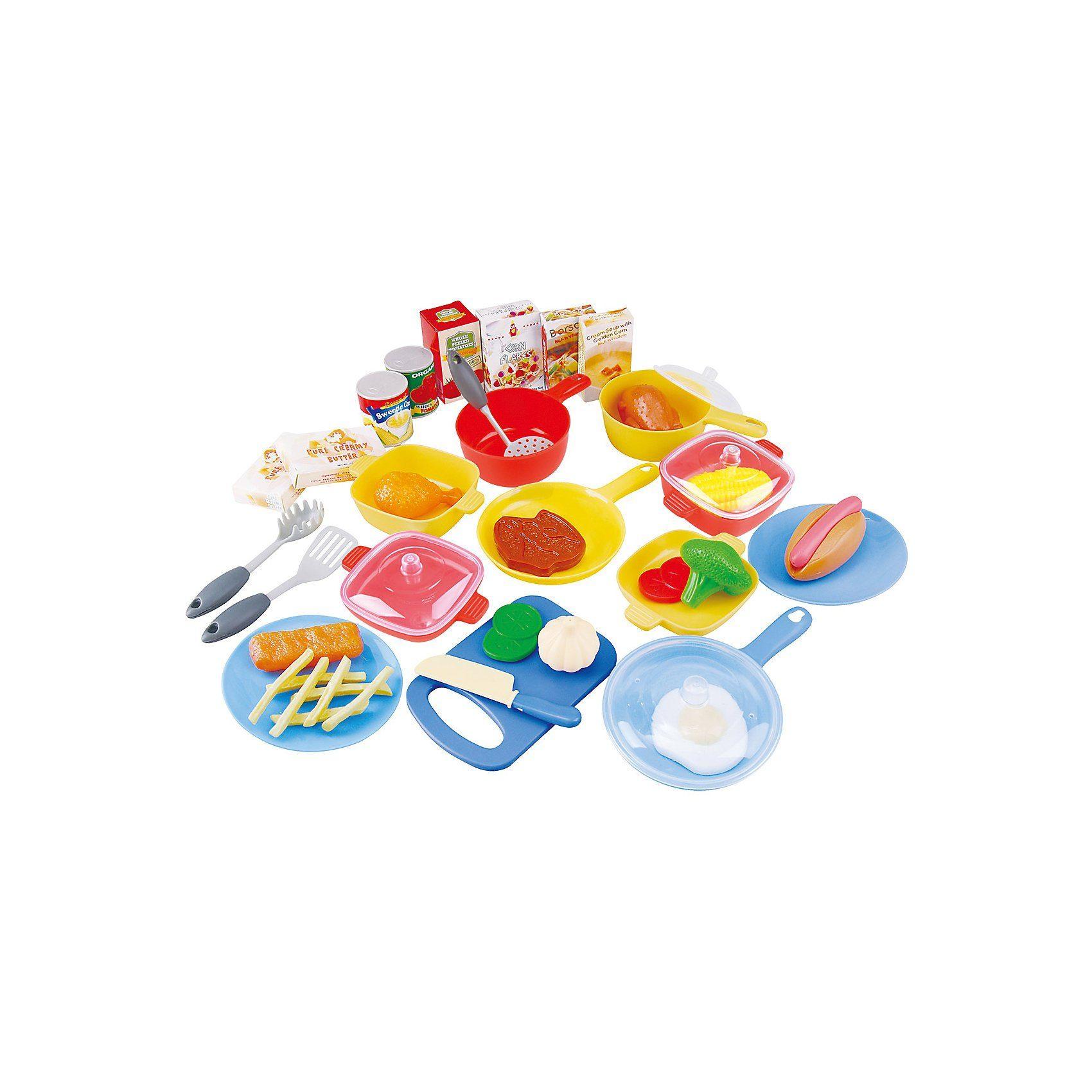 Playgo Spiellebensmittel Küchenset