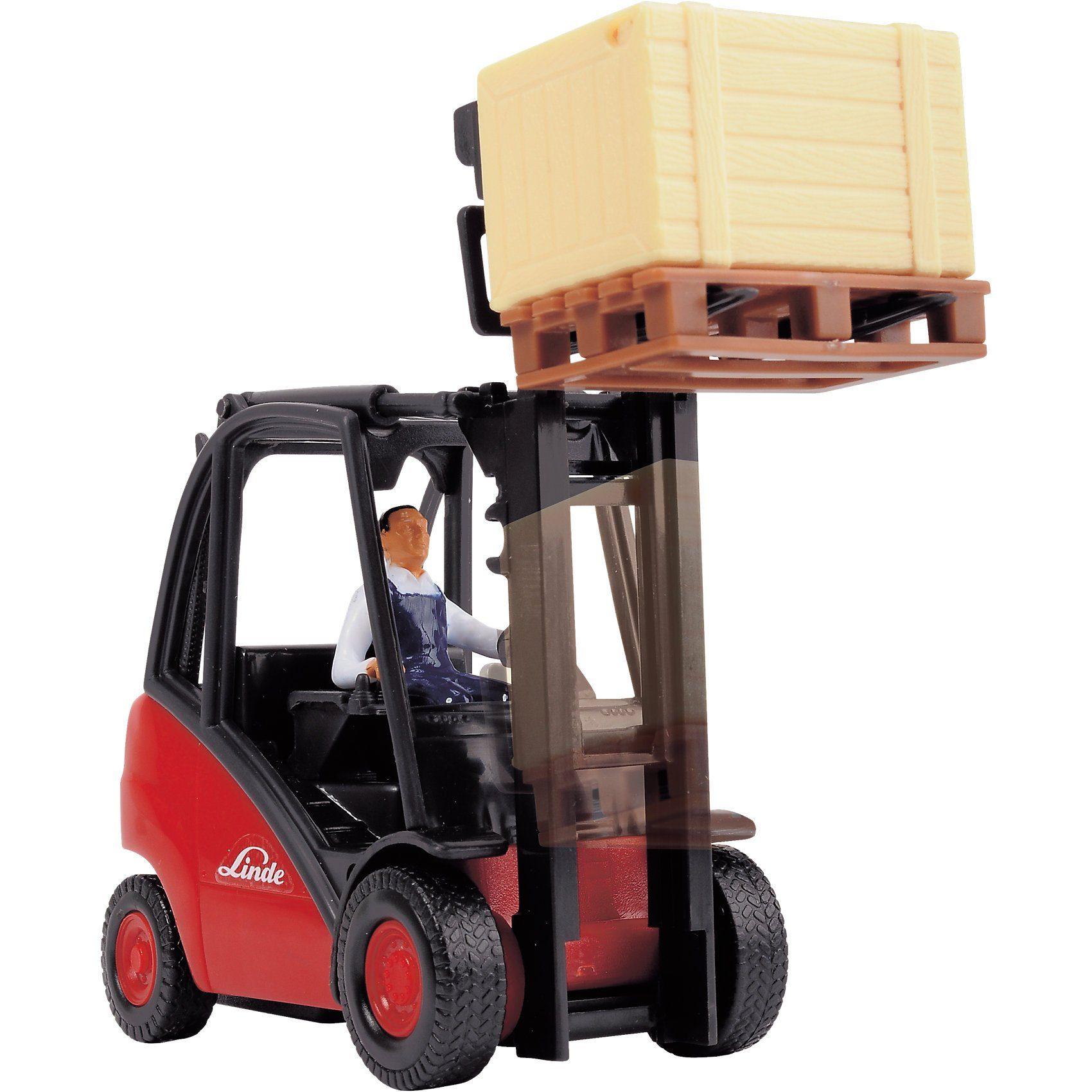 Dickie Toys Gabelstapler Cargo Lifter