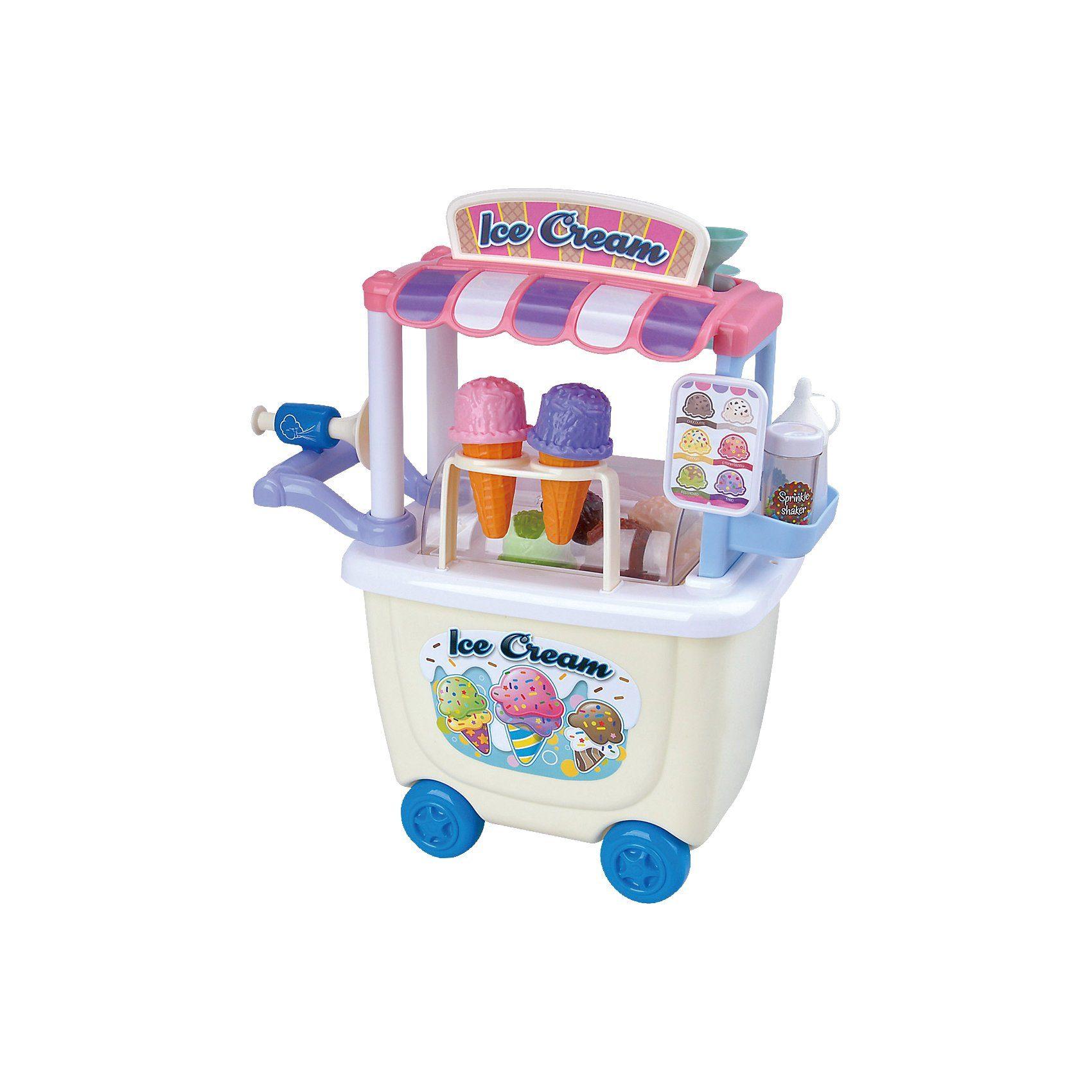 Playgo Gourmet Eiswagen Spiellebensmittel