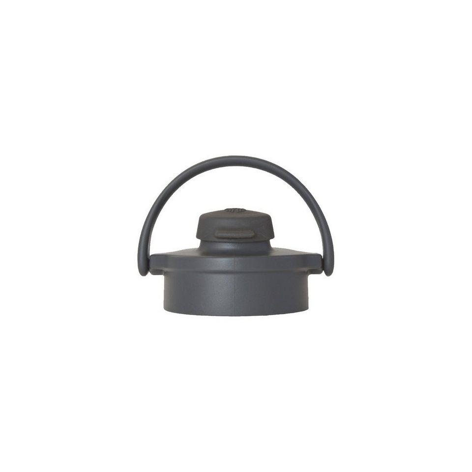 Lifefactory Flip Top Cap graphite/carbon für Glasflasche