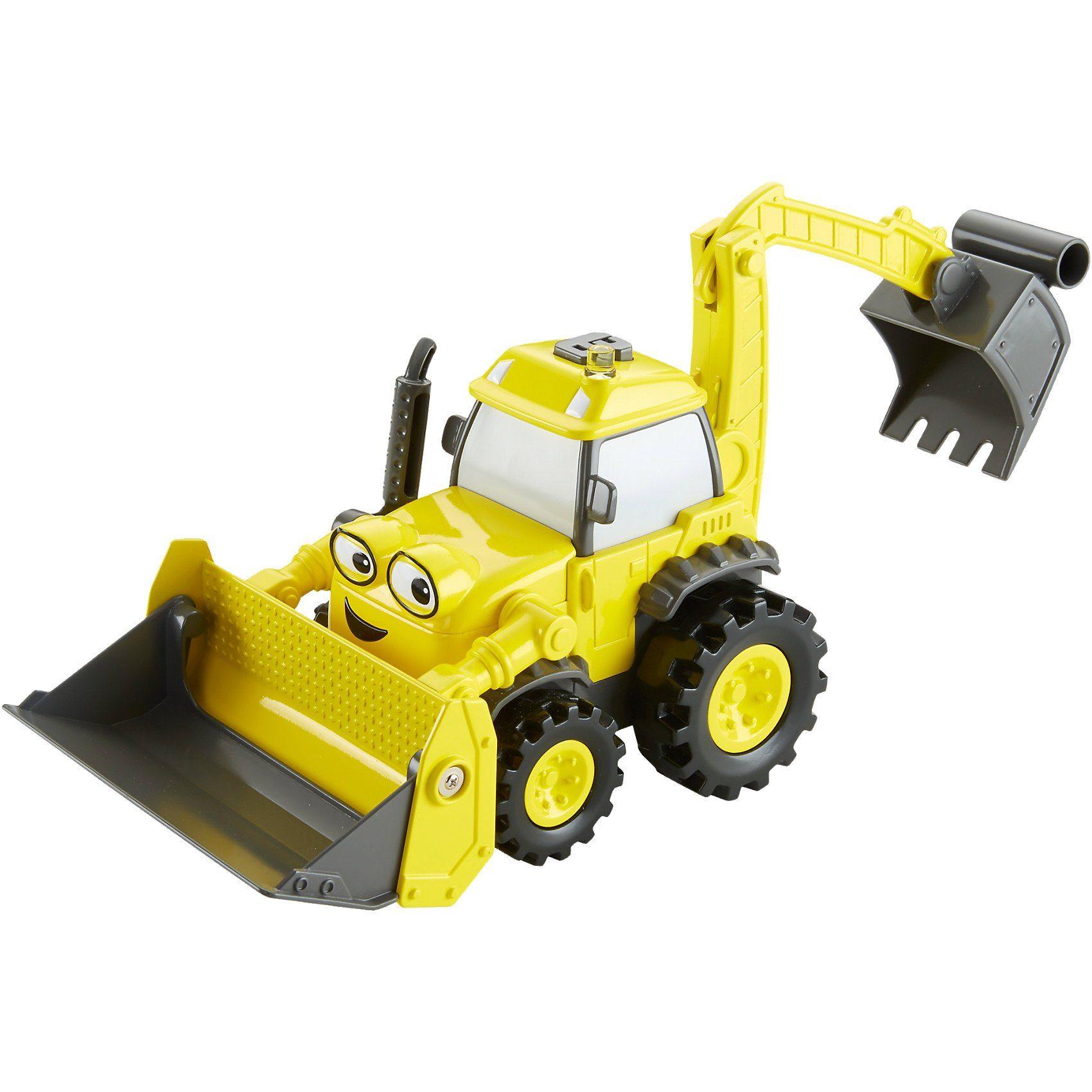 Mattel® Fisher-Price Bob der Baumeister - Großer Schaufelspaß Baggi
