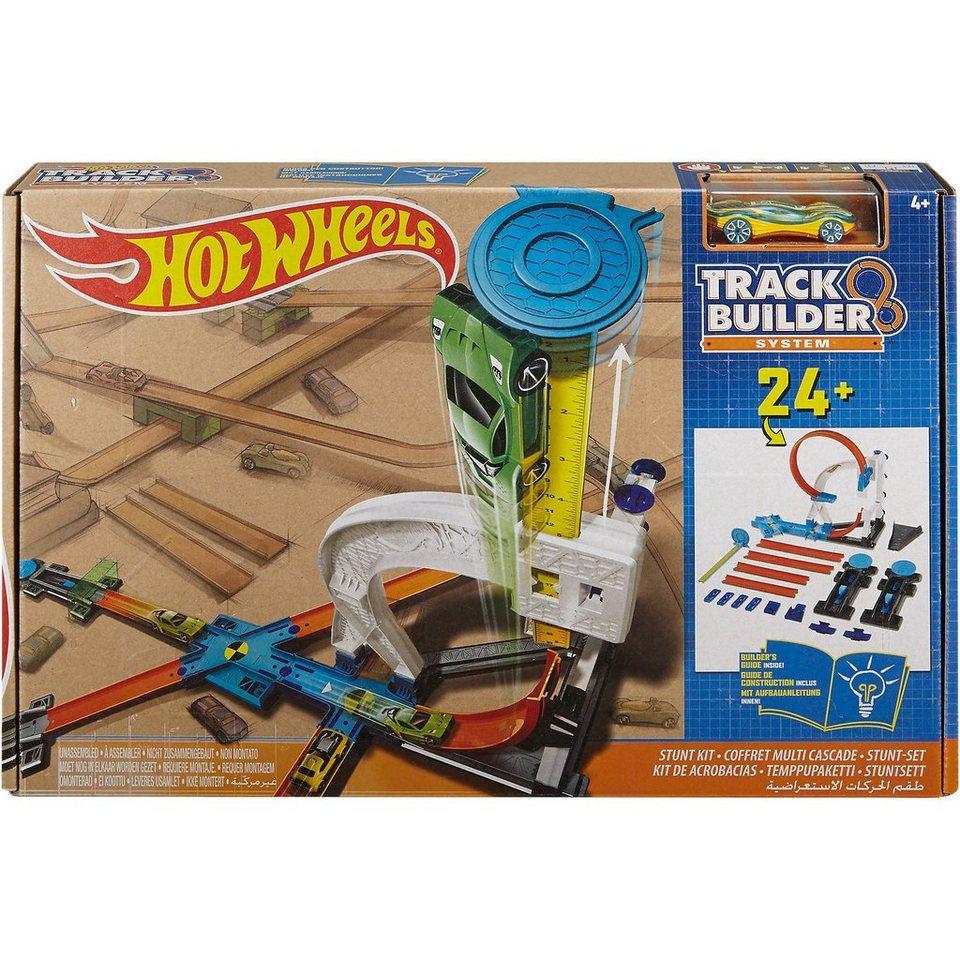 Mattel Hot Wheels Track Builder Stunt Kit
