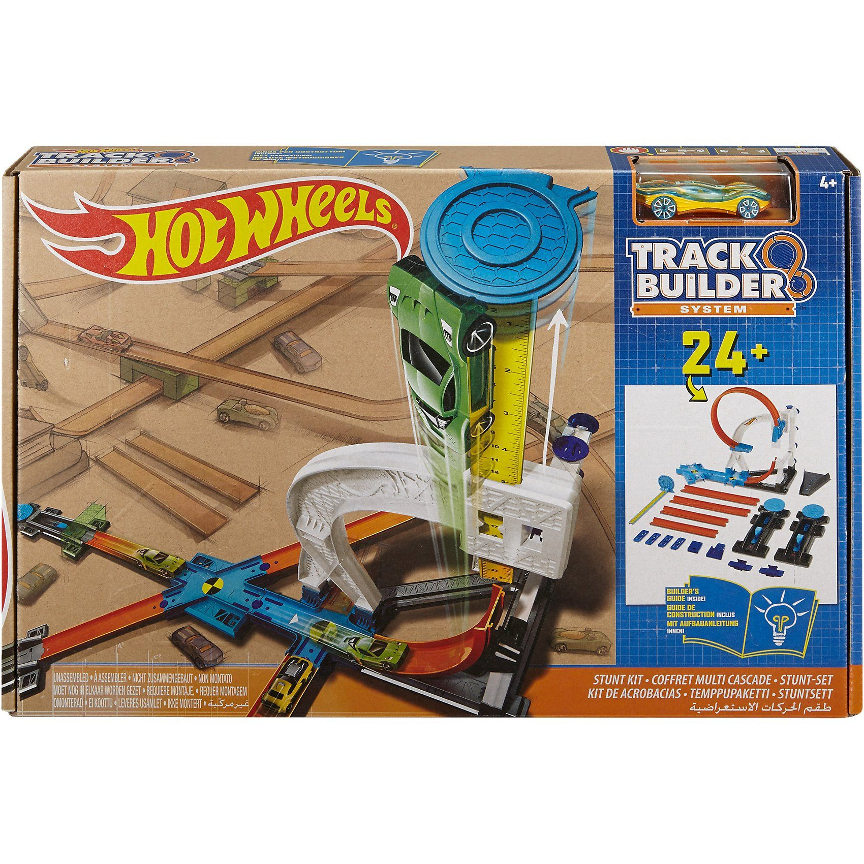 Mattel® Hot Wheels Track Builder Stunt Kit