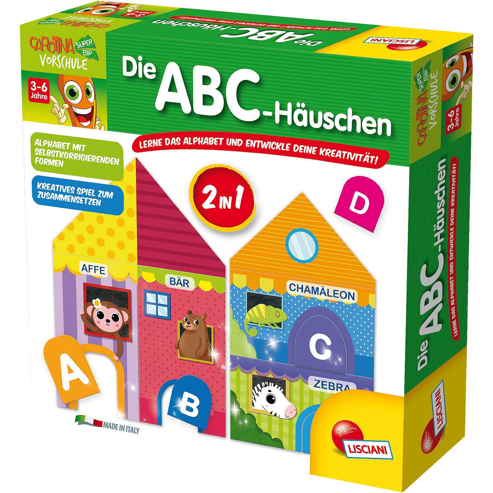 Lisciani Die ABC-Häuschen