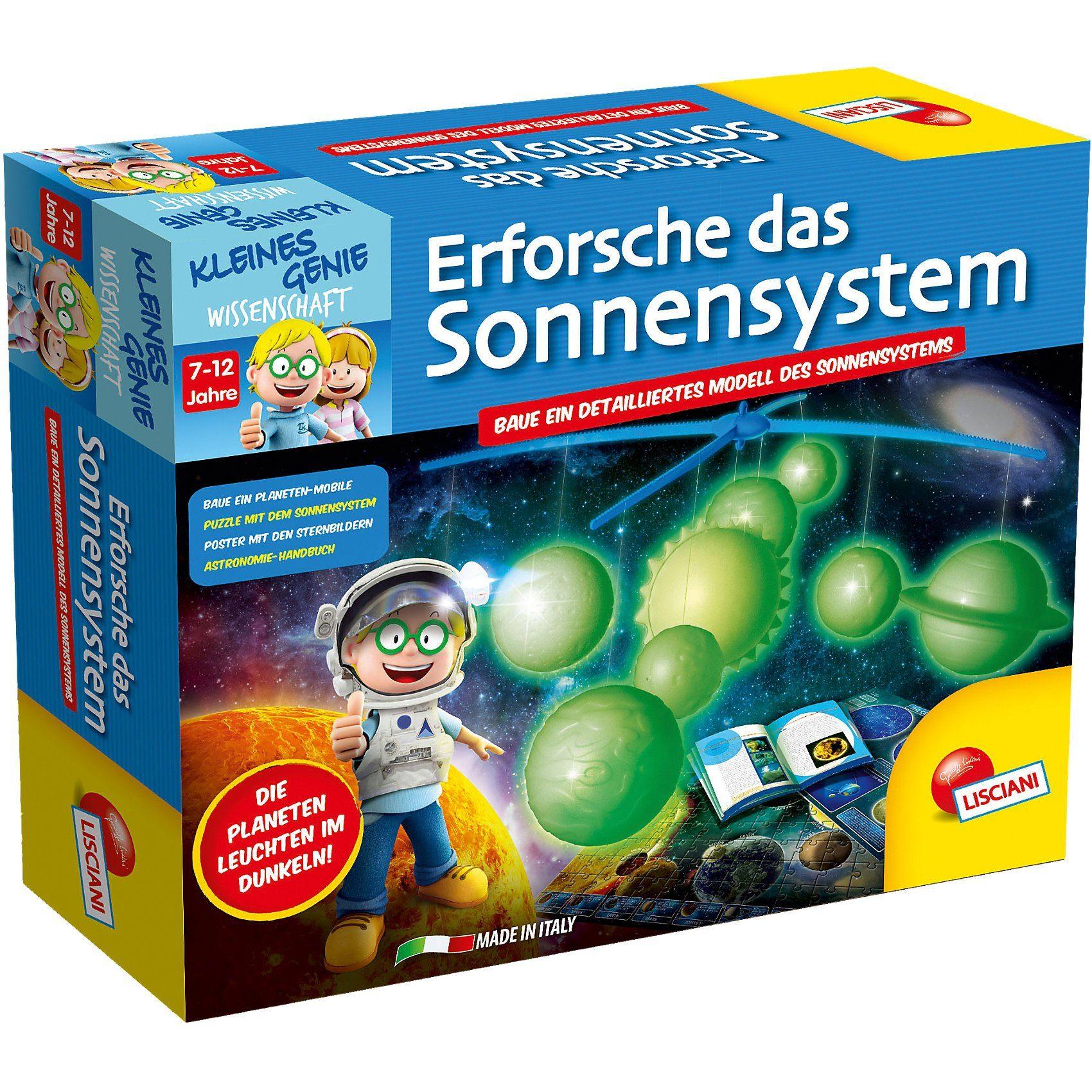 Lisciani Kleines Genie - Erforsche das Sonnensystem