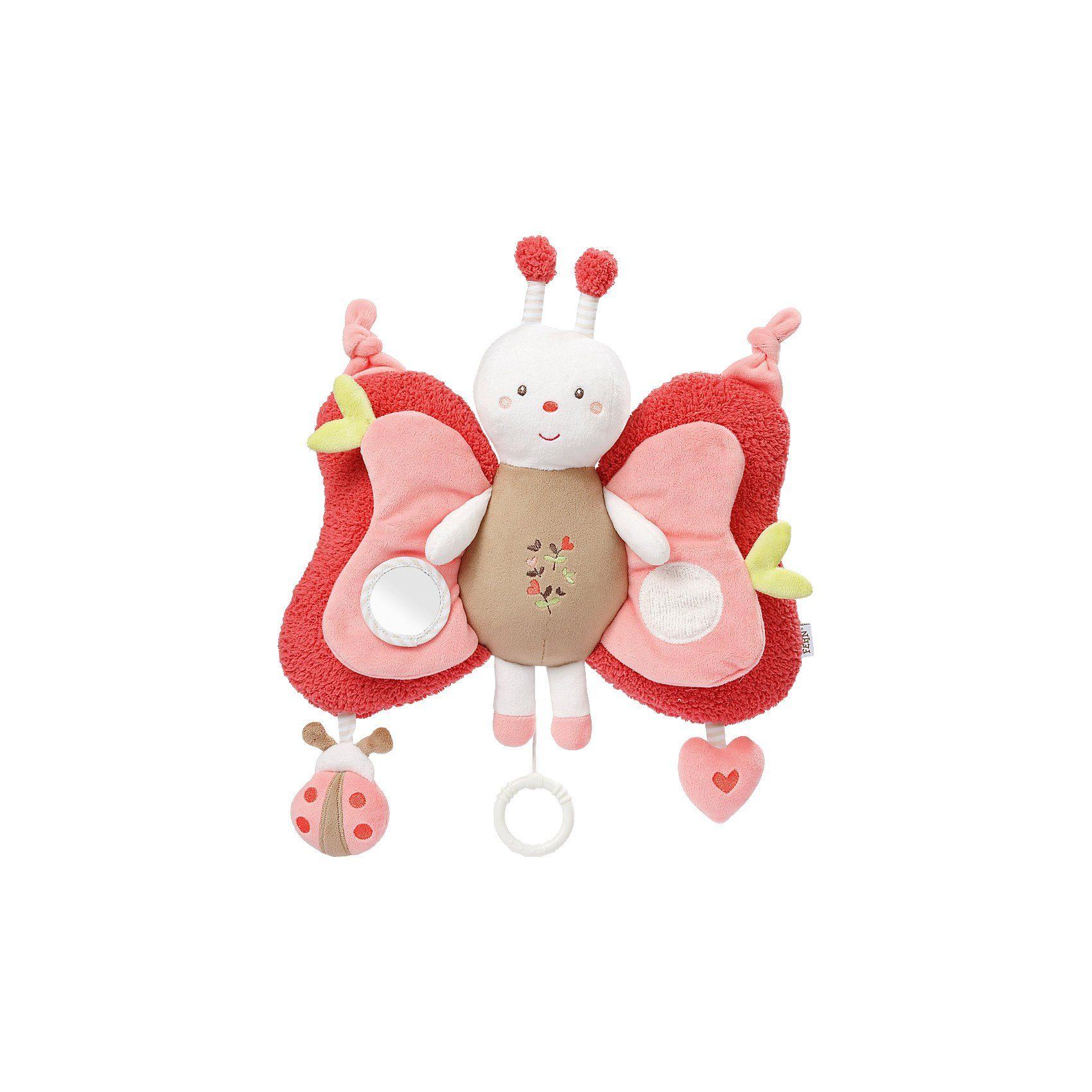 Fehn Garden Dreams LED Spieluhr Deluxe Schmetterling mit Nachtlic