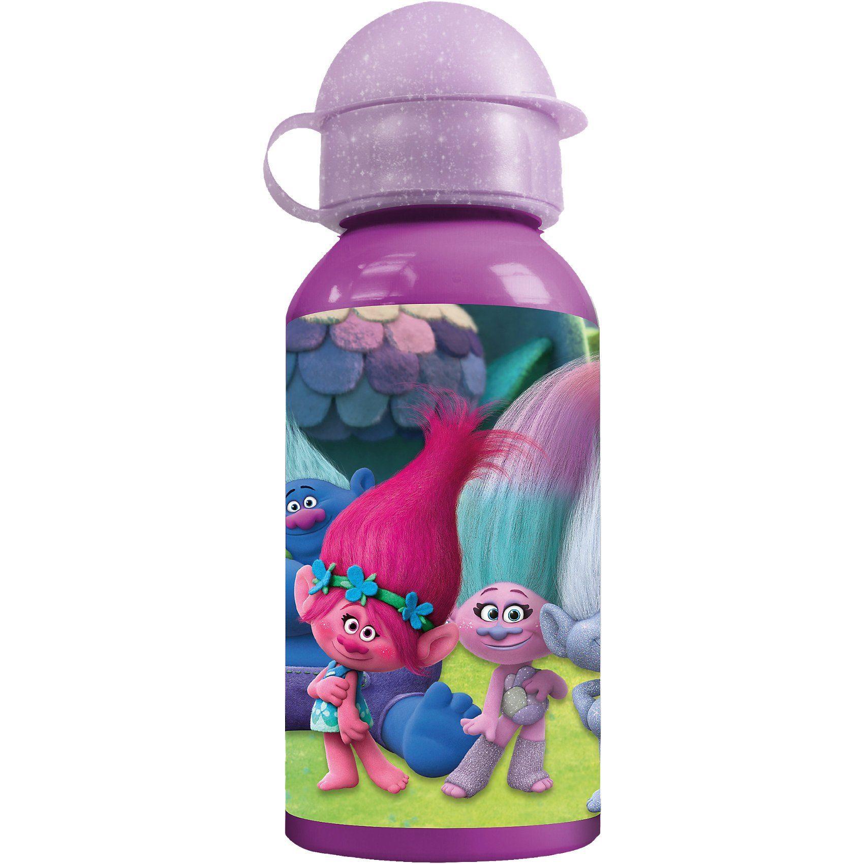 P:OS Alu-Trinkflasche Trolls, 400 ml