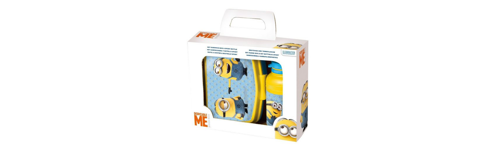 JOY TOY Pausenset Minions, 2-tlg.