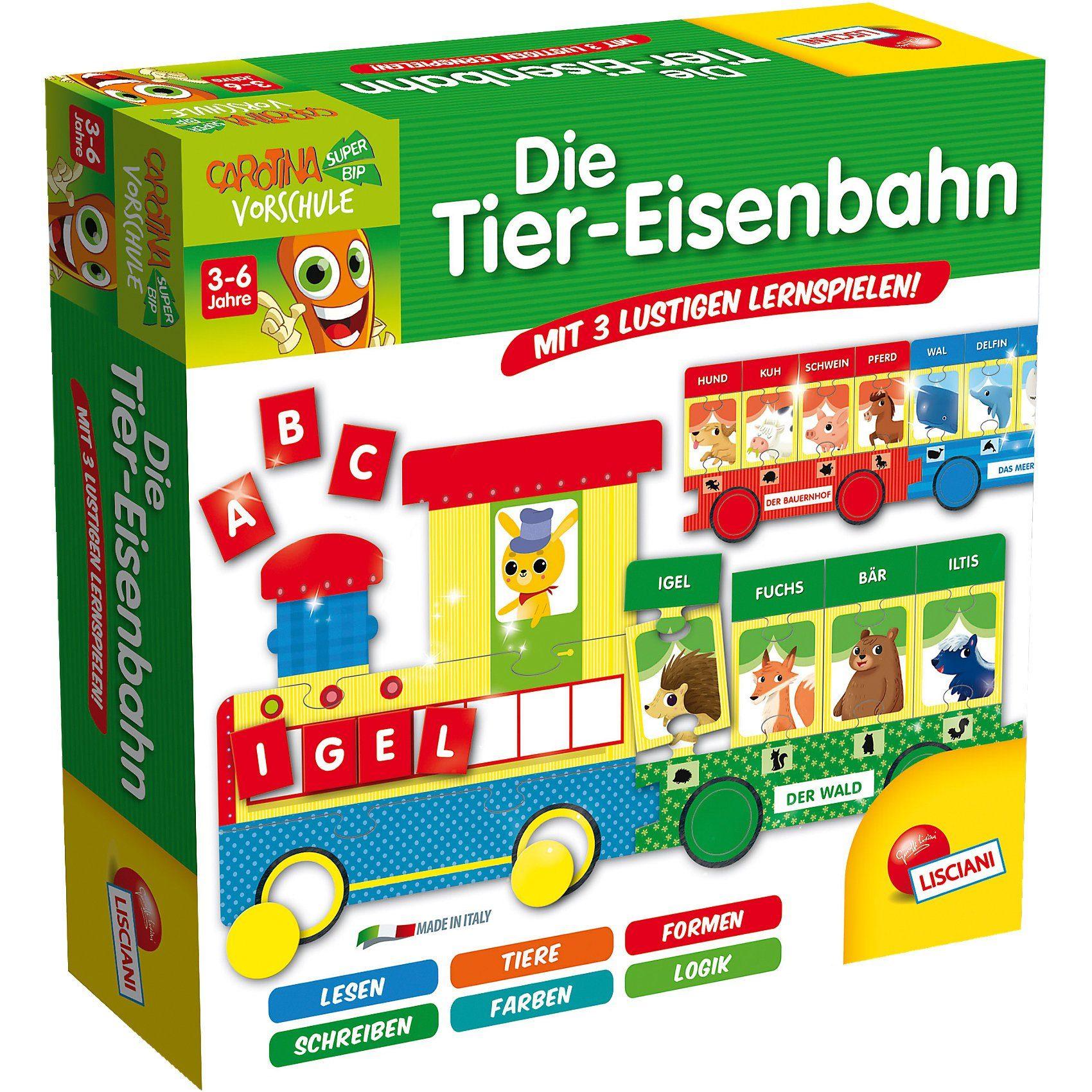 Lisciani Die Tier-Eisenbahn