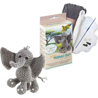 Folia Mini-Häkelset Elefant Sale Angebote Lieskau
