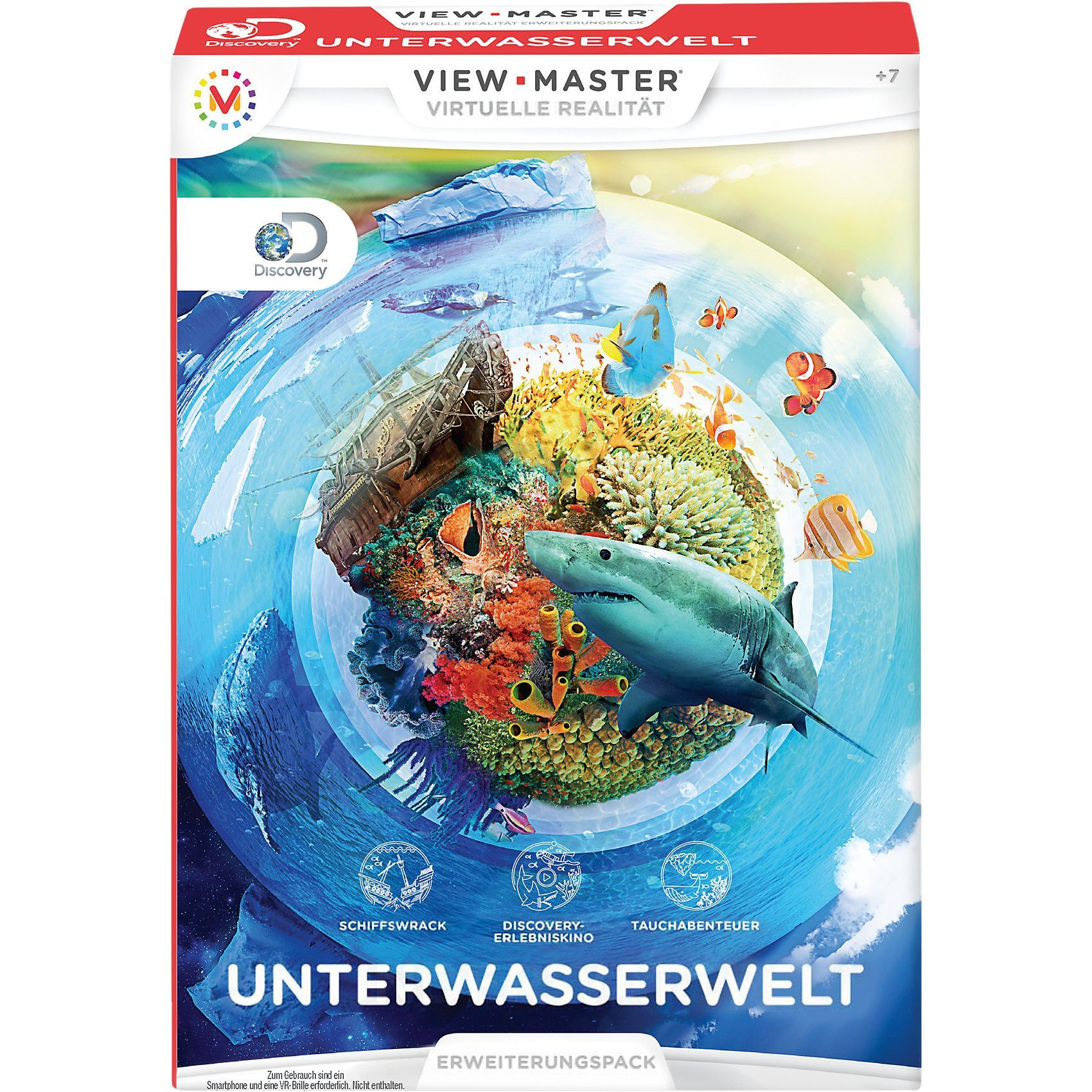 Mattel® View-Master Erweiterung Unterwasserwelt