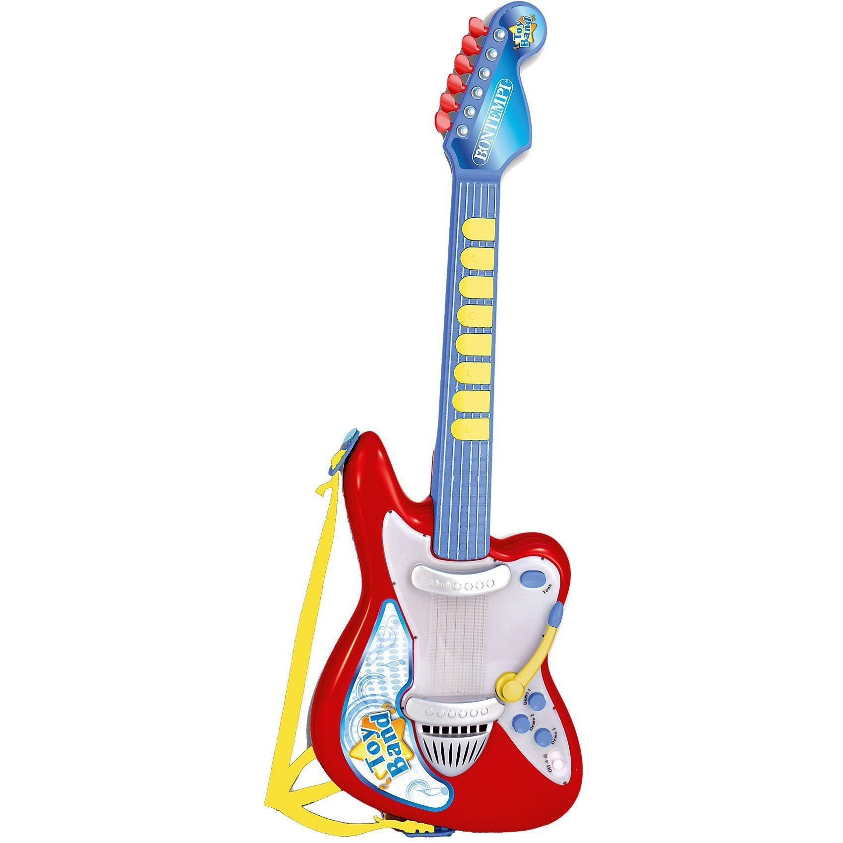 Bontempi Elektronische Rockgitarre