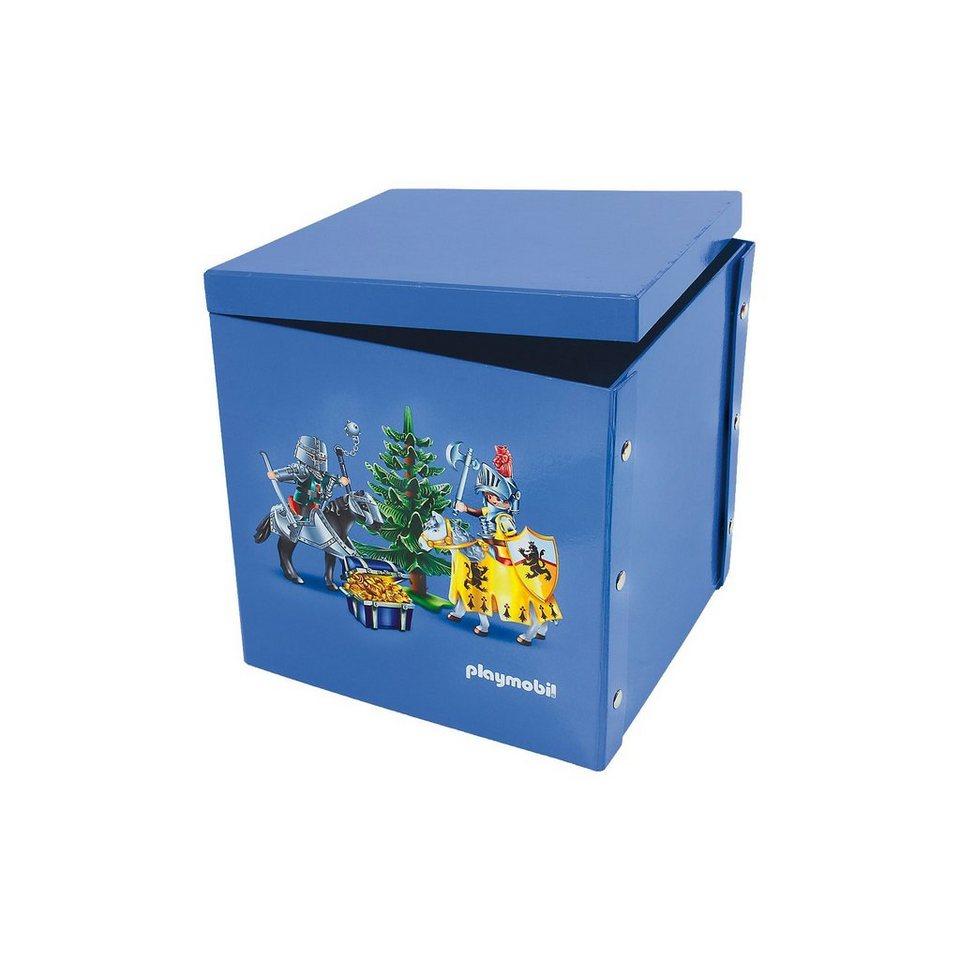 ProType Spiel- und Aufbewahrungsbox Knights in blau
