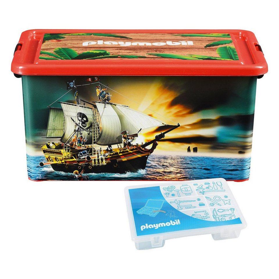 ProType Aufbewahrungsbox XL Piraten in rot