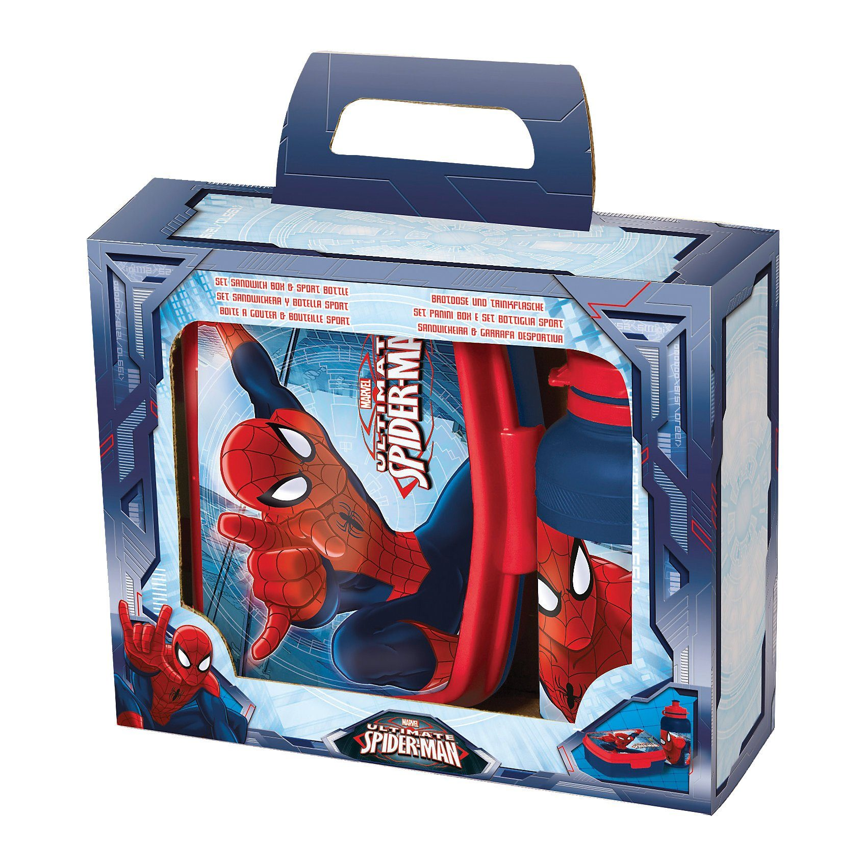 JOY TOY Pausenset Spiderman, 2-tlg.