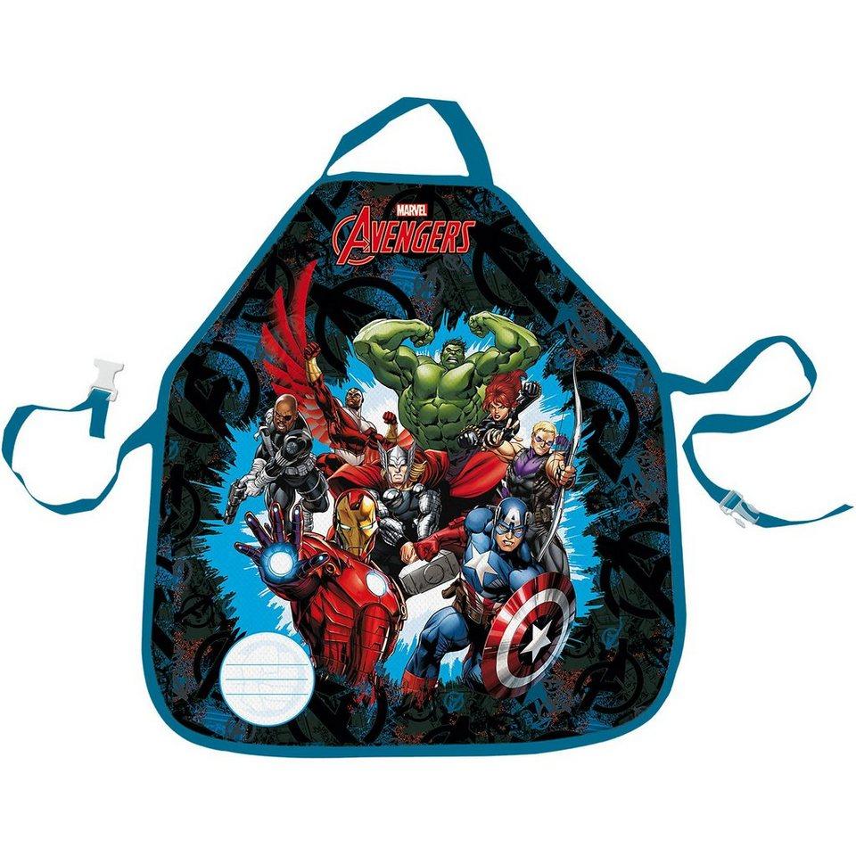 Malschürze Marvel Avengers