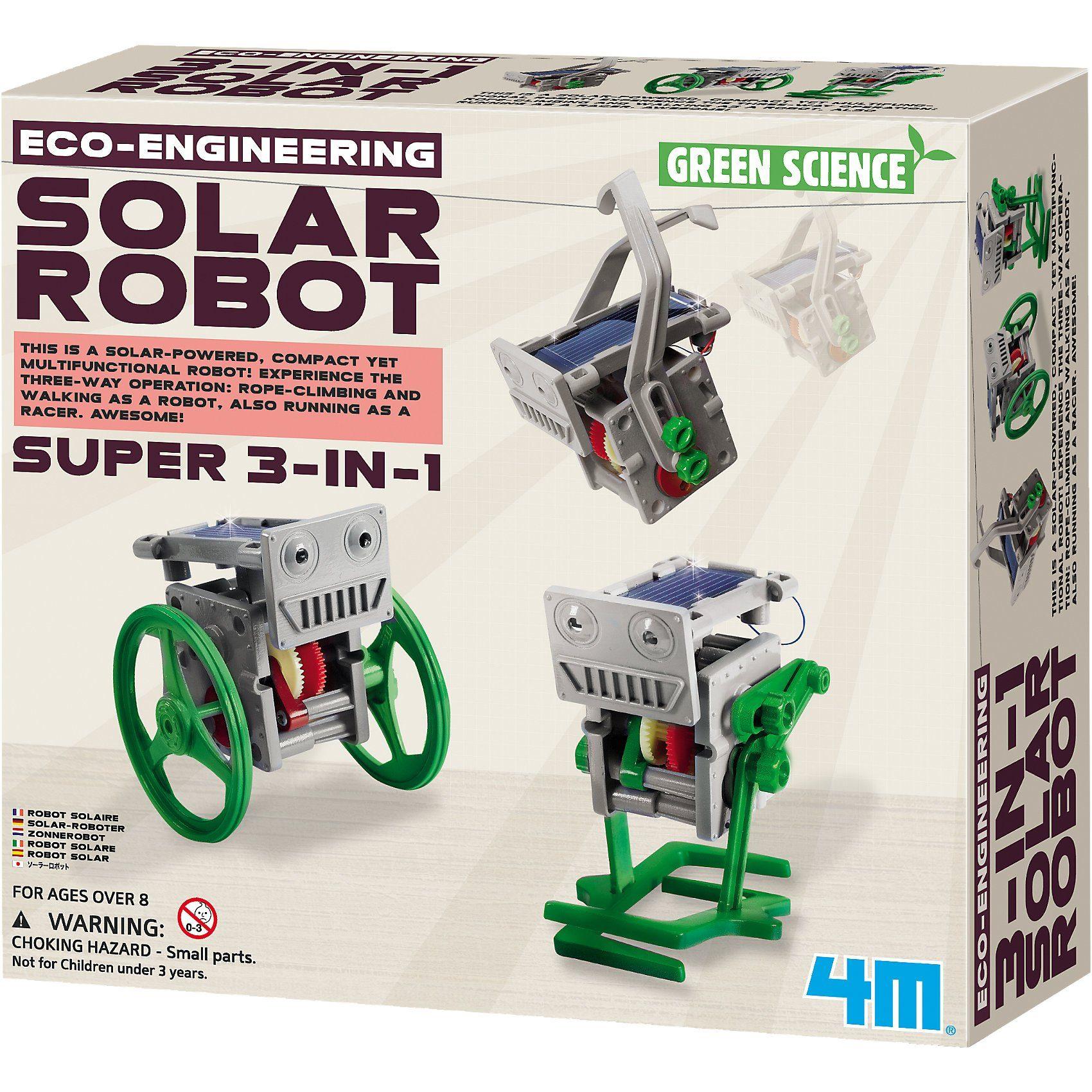 4M Eco Engineering - 3in1 Mini Solar Robot