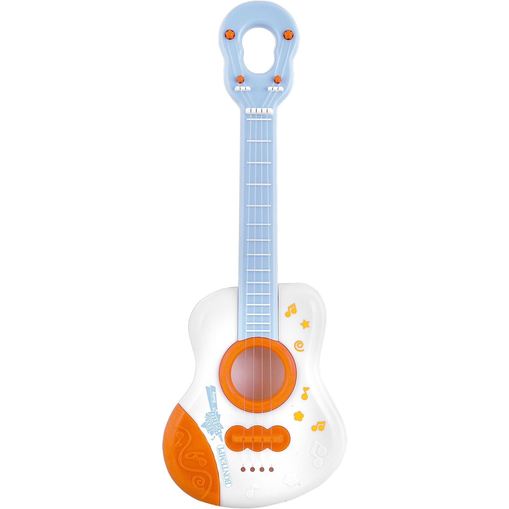 Bontempi Baby Gitarre mit 4 Nylon-Seiten