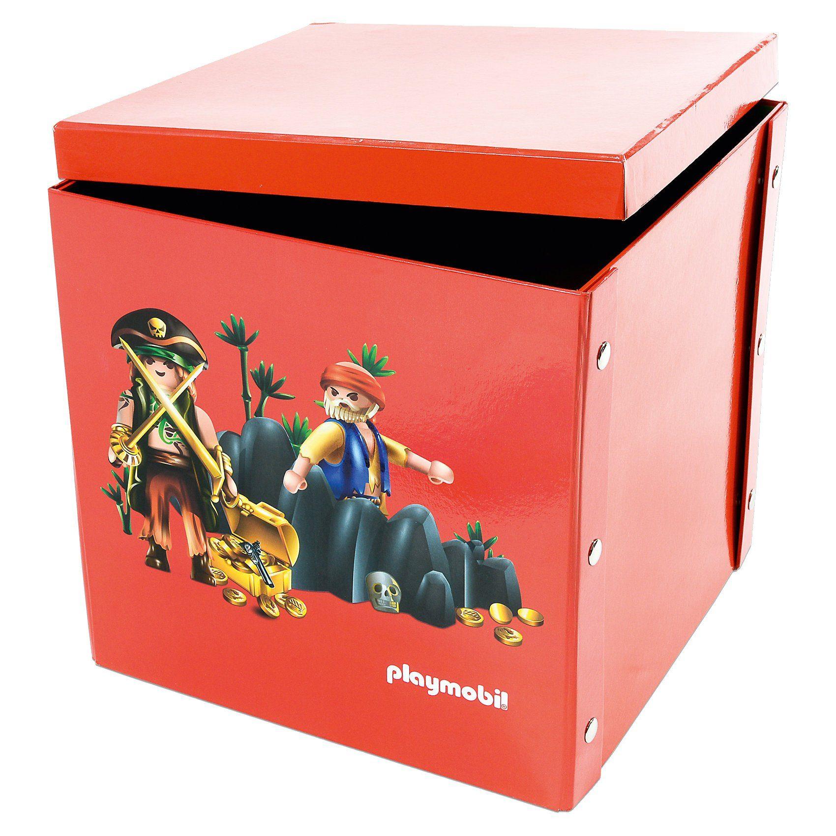 ProType Spiel- und Aufbewahrungsbox Piraten