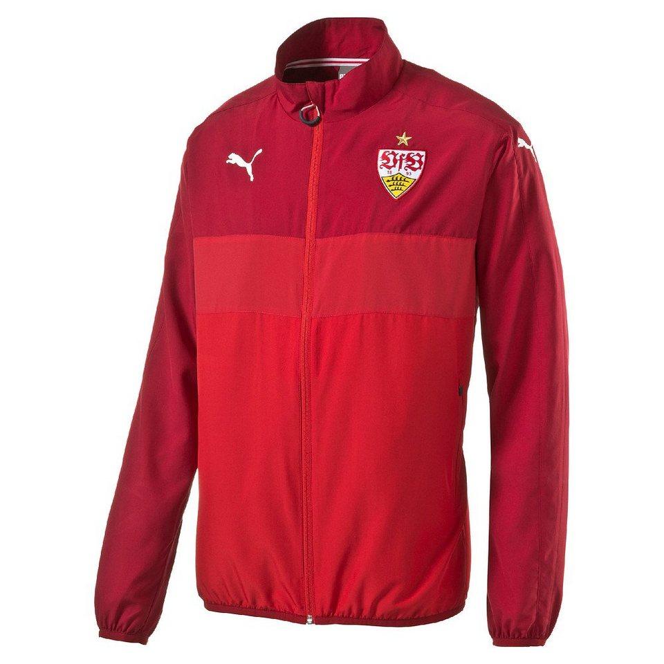 Puma VfB Stuttgart »Woven Jacket« in rot