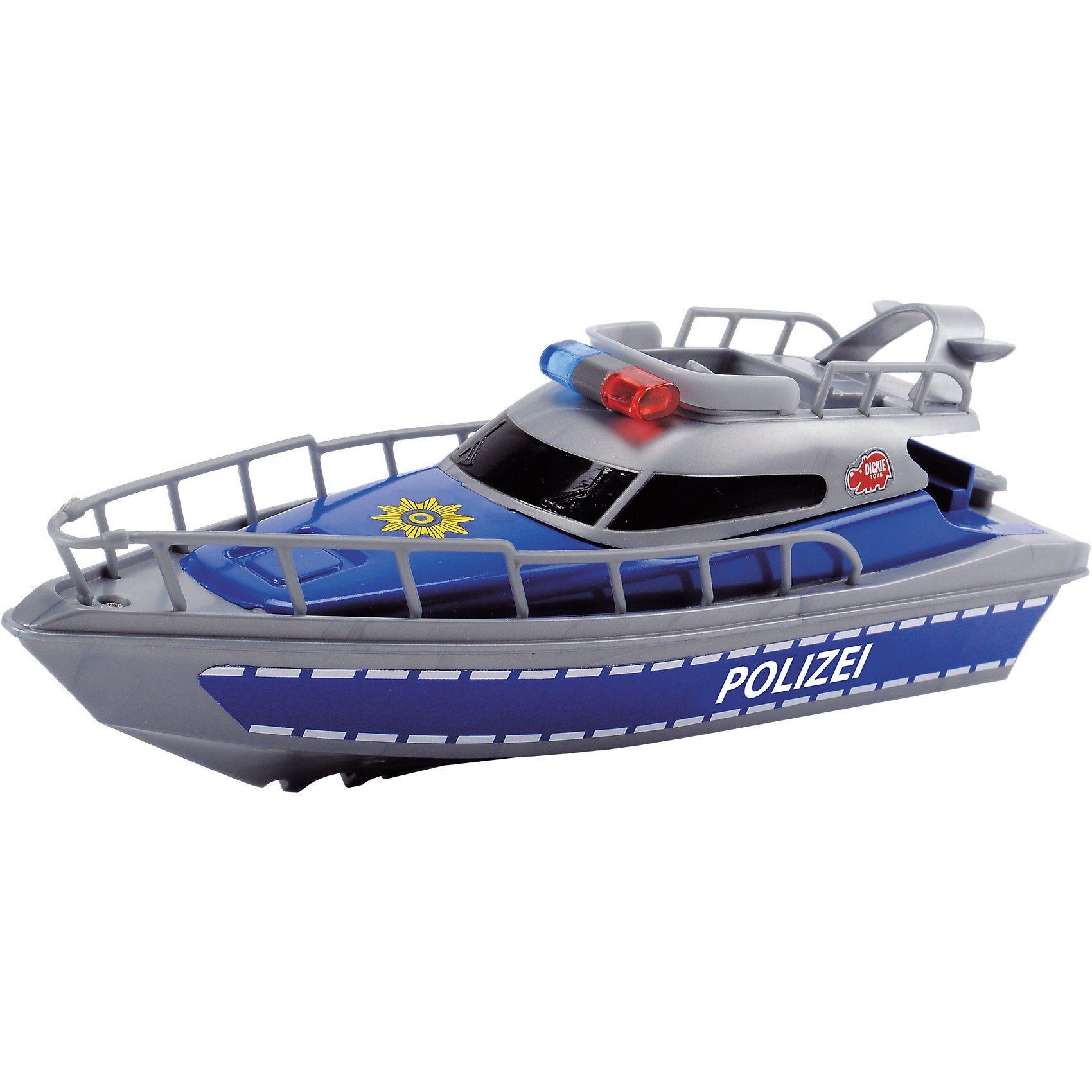 Dickie Toys batteriebetriebenes Polizei Boot