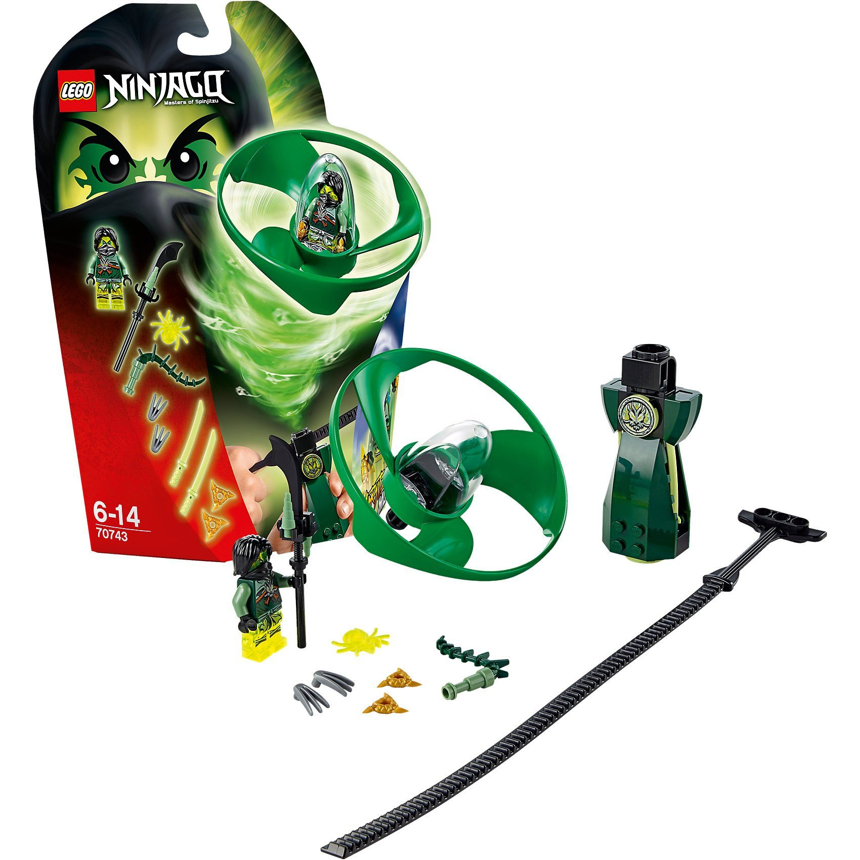 LEGO 70743 Ninjago: Airjitzu Morro Flieger