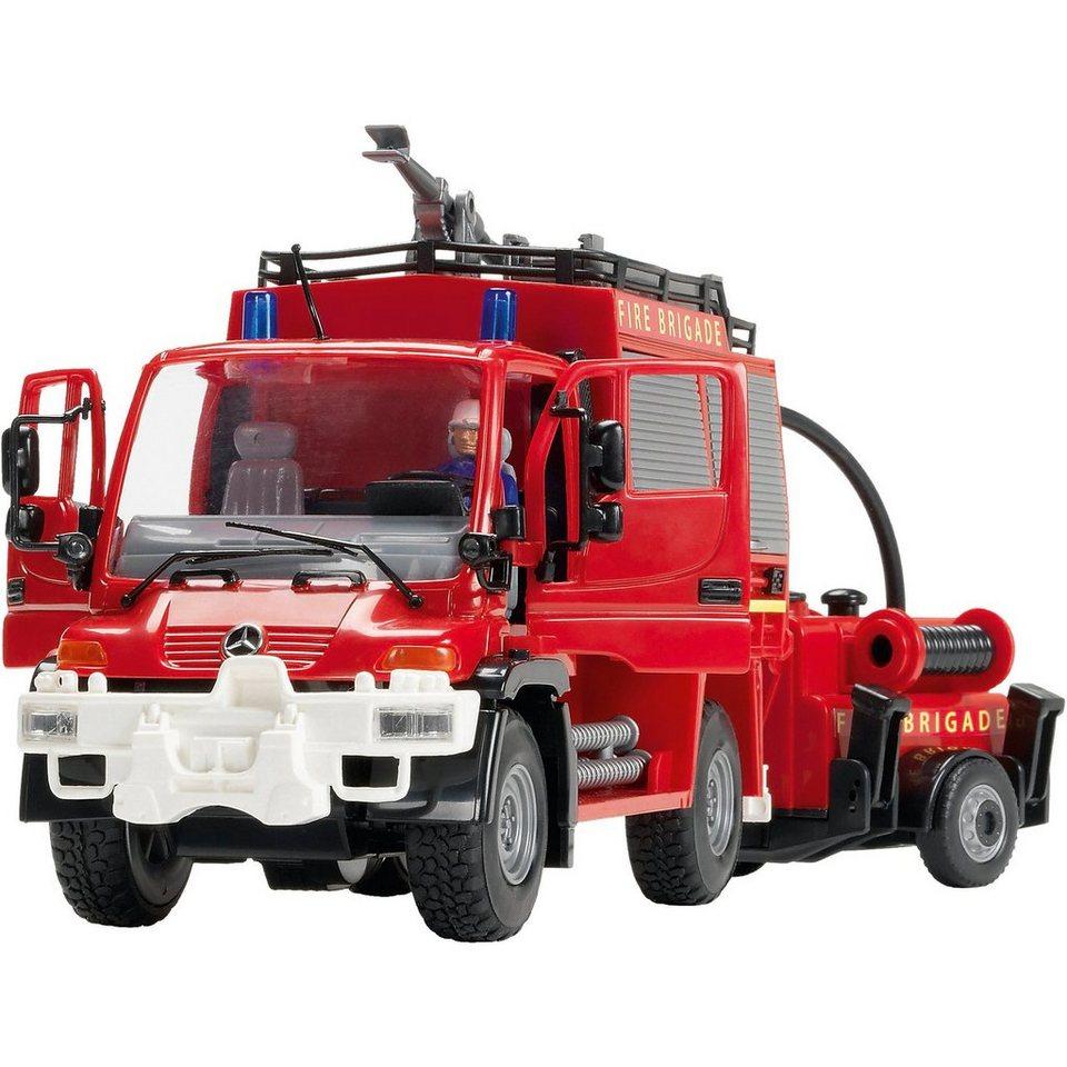 Dickie Toys Unimog Feuerwehr Set