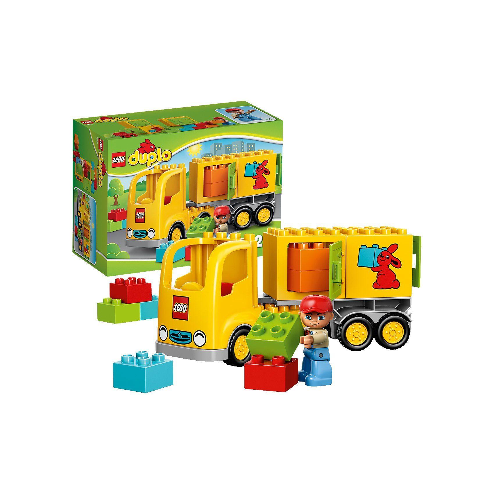 LEGO 10601 DUPLO: Lastwagen mit Anhänger