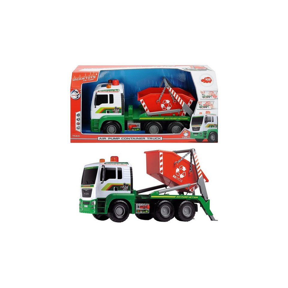 Dickie Toys Pump Action Container Truck