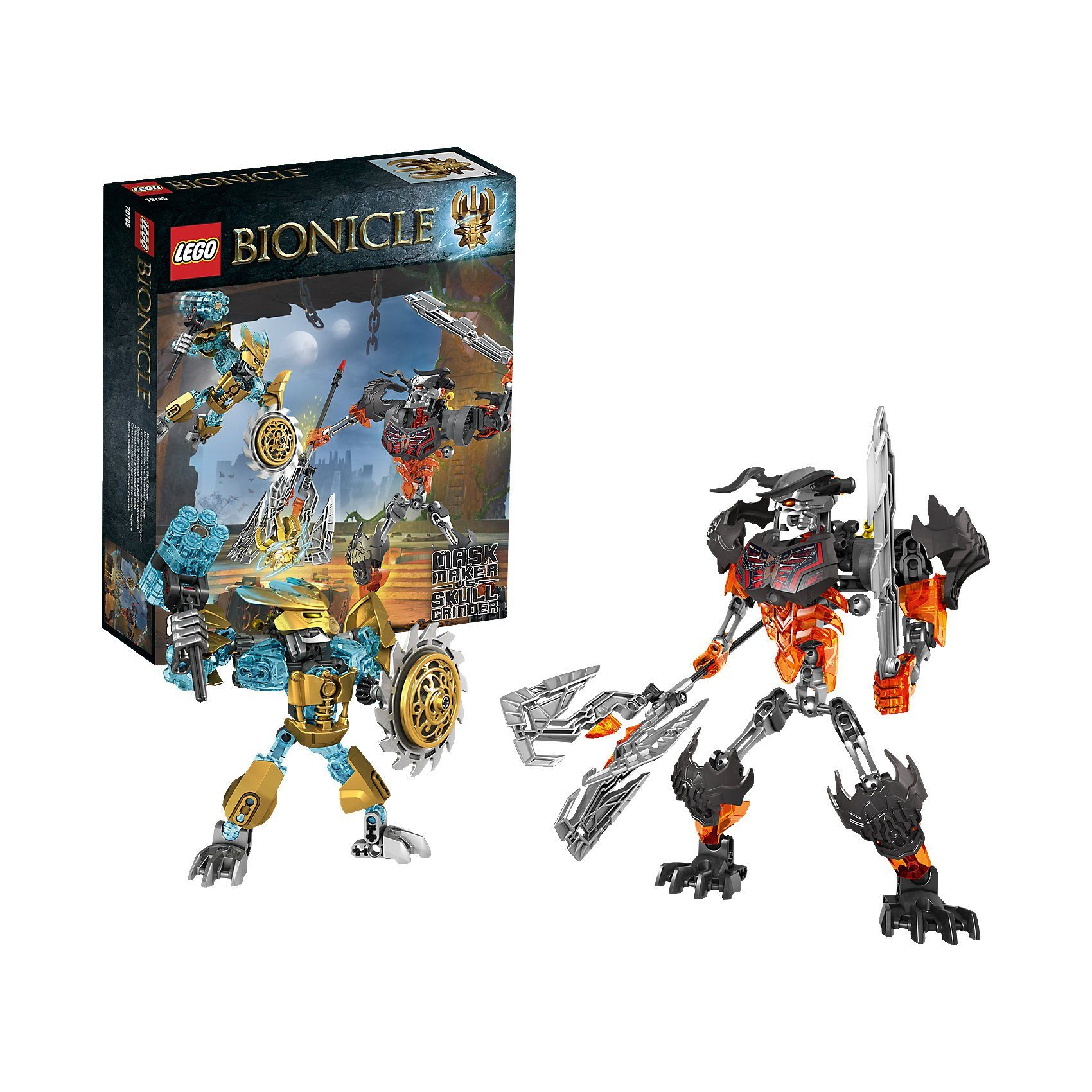 LEGO 70795 Bionicle: Maskenmacher vs. Totenkopf-Brecher