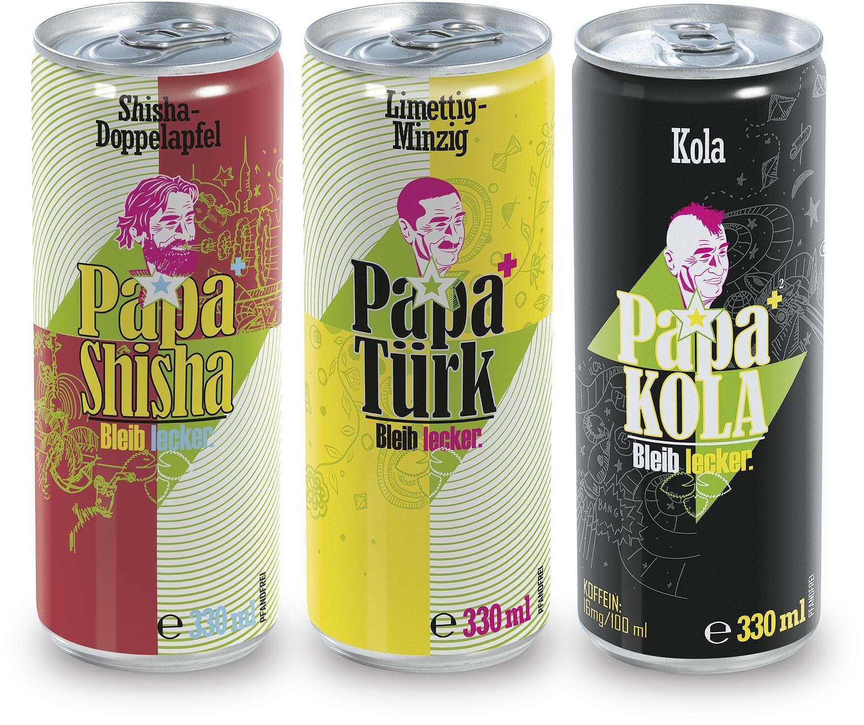 PapaTürk Kuss-Trunk,15-teilig, »Try-Me«