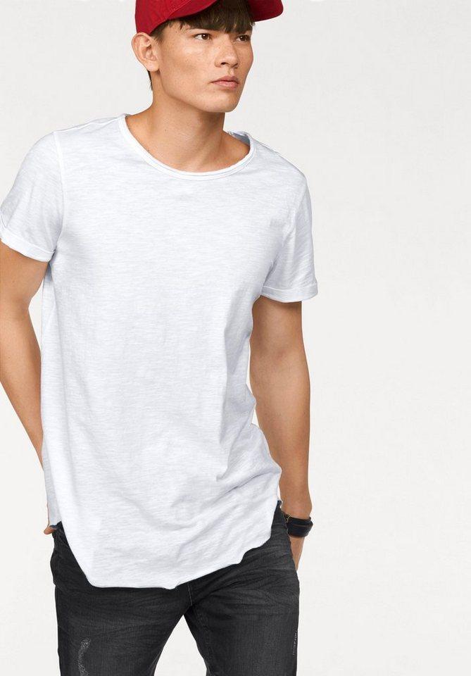 John Devin Longshirt Long Fit in weiß