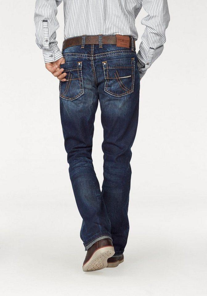 camp david loose fit jeans nick mit markanten kontrastn hten online kaufen otto. Black Bedroom Furniture Sets. Home Design Ideas