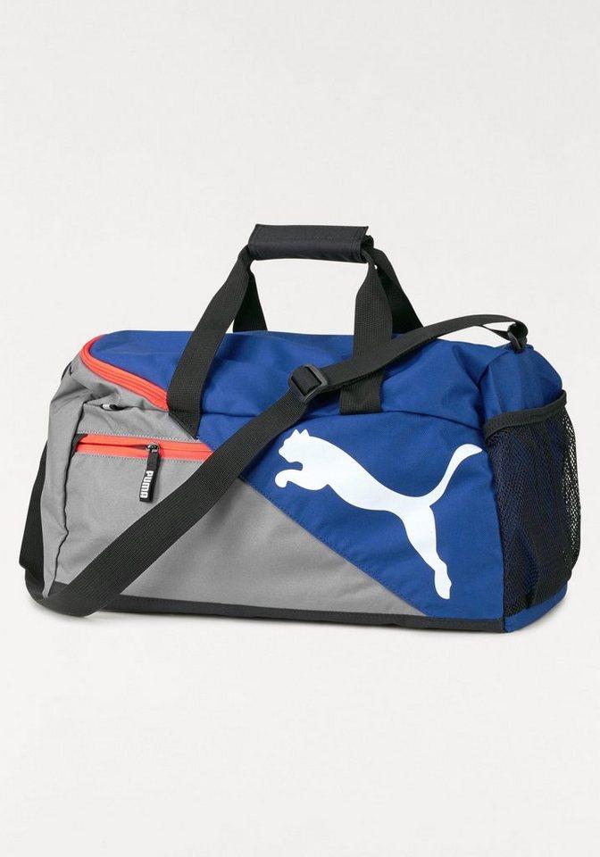 PUMA Sporttasche »FUNDAMENTALS SPORTS BAG« in blau-grau