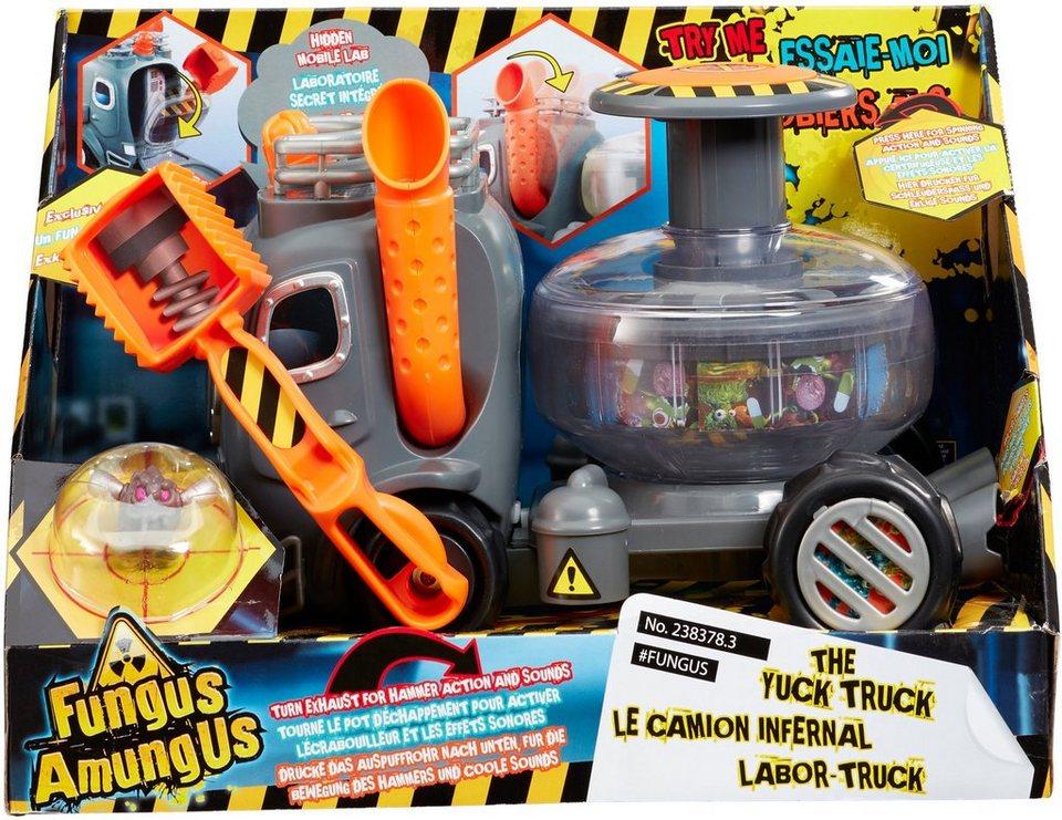 Vivid Spielfahrzeug mit Sound und Funktion, »Fungus AmungUs Labor Truck mit exklusivem Funguy«