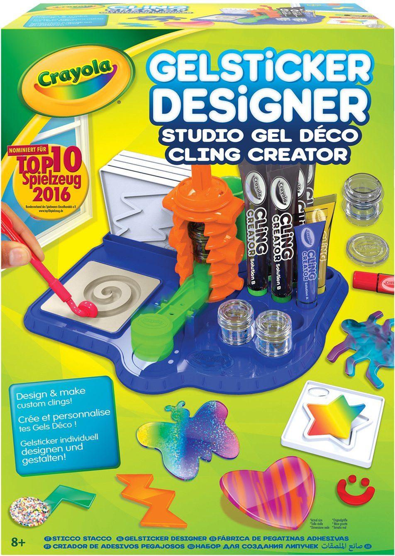 Crayola Kreativset, »Gelsticker Designer«