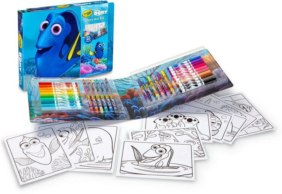 Crayola Kreativset , »Disney Pixar Finding Dory Kleines Malset«