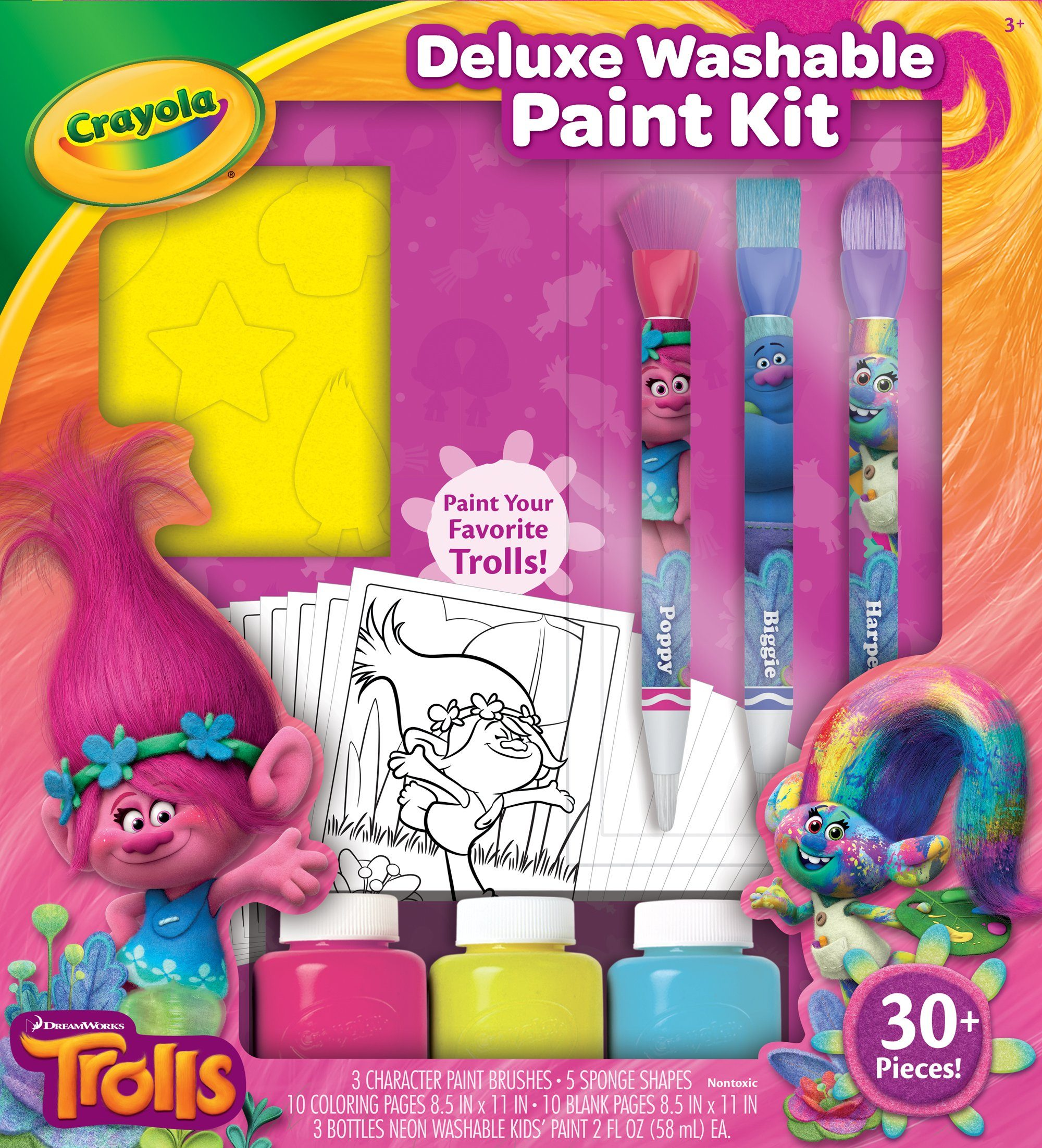 Crayola Kreativset, »DreamWorks Trolls Malspaß Set«