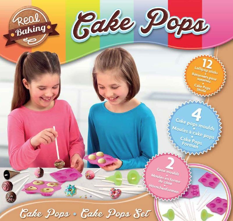 Vivid Bäckerei Kreativset, »Real Baking Cake Pops Set«