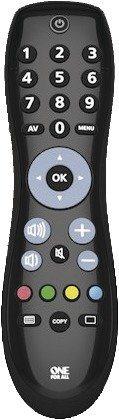 One for All Universalfernbedienung »Simple Remote TV« in schwarz