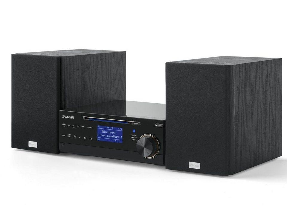 Sangean Kompaktanlage (Bluetooth, CD-Player, DAB+/UKW, MP3) »DMS-37BT« in Schwarz
