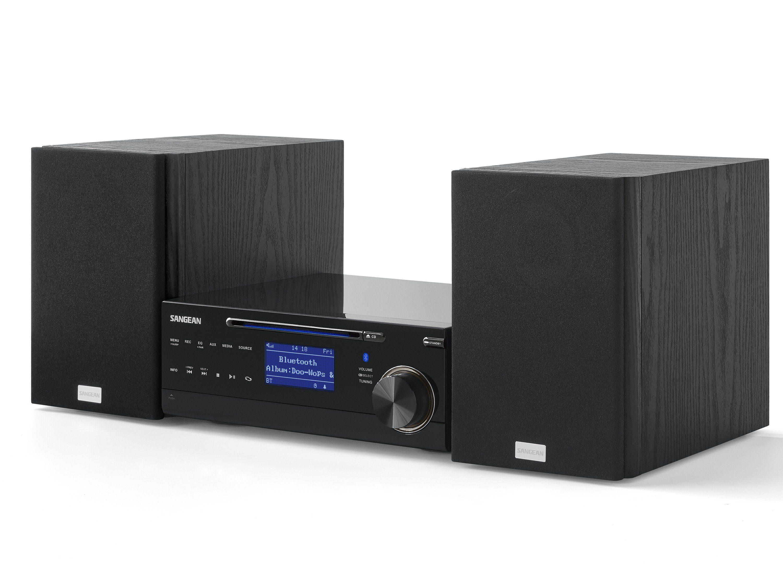 Sangean Kompaktanlage (Bluetooth, CD-Player, DAB+/UKW, MP3) »DMS-37BT«
